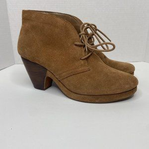 Bella Vita brown ankle boots - size 10 wide